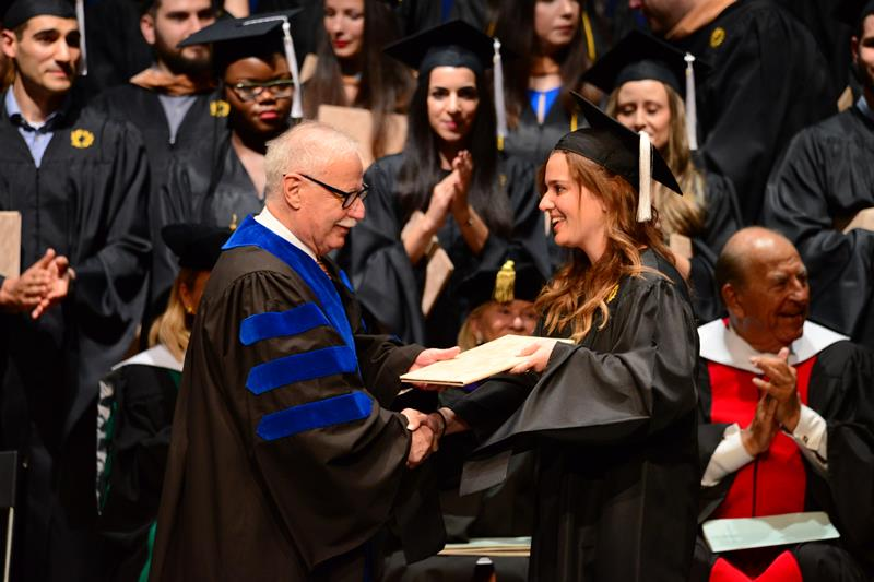 10th  Hellenic American University Commencement